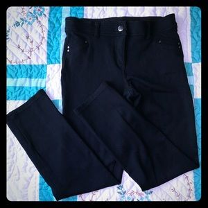 Style&Co Black  Pants with lots of stretch size 4
